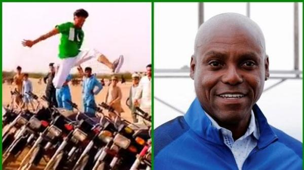 US athlete Carl Lewis says aspiring Pakistani long jumper has 'perfect mindset'