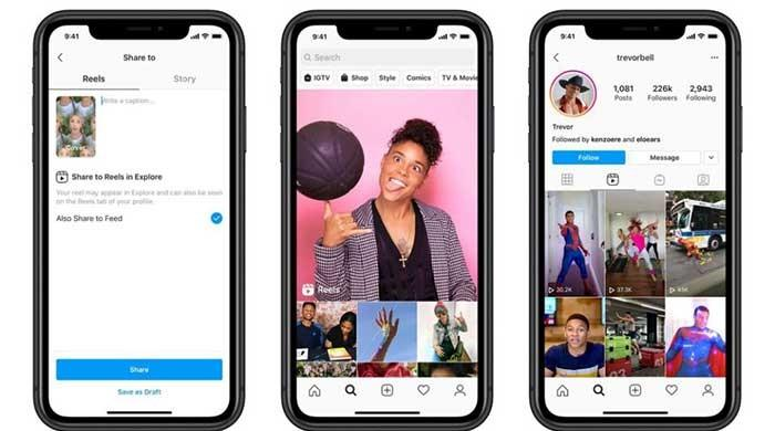 Facebook launches 'Instagram Reels' to rival TikTok in US, 50 other countries