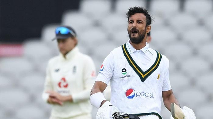 Shan Masood becomes first Pakistani opener to hit 100 in England in 21st century