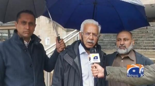 Geo News Special - Kashmiris gather in Brussels to protest India's occupation of Kashmir
