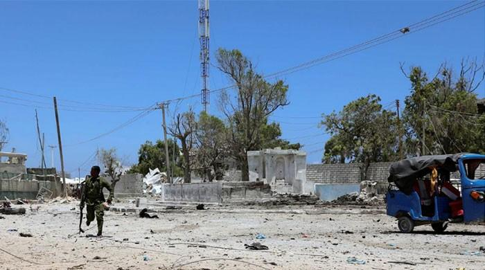 Blast at military base in Somalia's Mogadishu kills eight