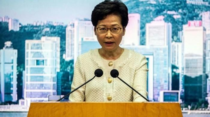 China slams US for imposing 'barbarous' sanctions over its crackdown in Hong Kong