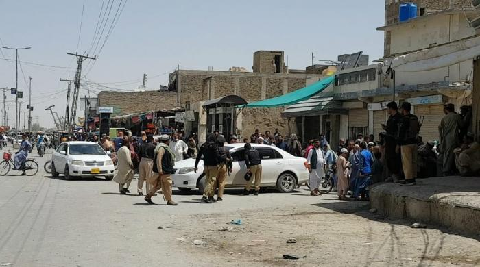 6 dead, 21 injured in blast on Chaman's Mall Road