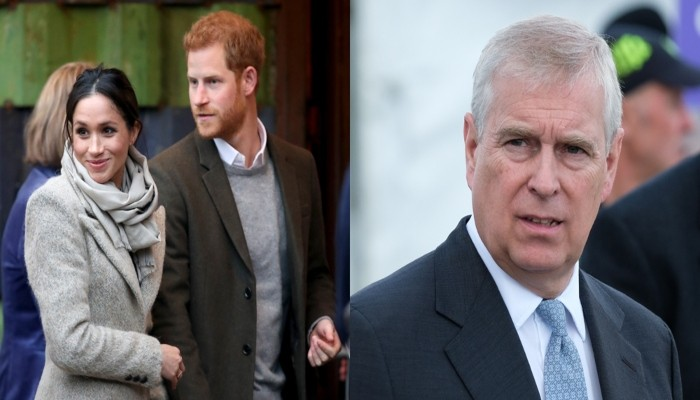 Royal website snubs Meghan, Harry and Prince Andrew by wiping their social media accounts - Geo News