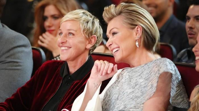 Ellen DeGeneres's wife Portia de Rossi says she is 'doing great' after fall from grace