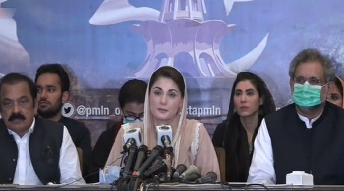 After clashes outside NAB office, Maryam says govt scared of PML-N's rising popularity