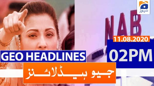 Geo Headlines 02 PM | 11th August 2020