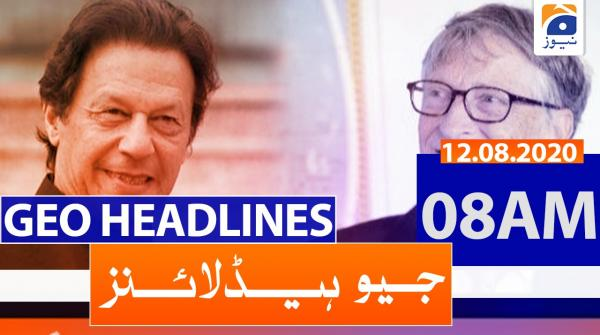 Geo Headlines 08 AM | 12th August 2020