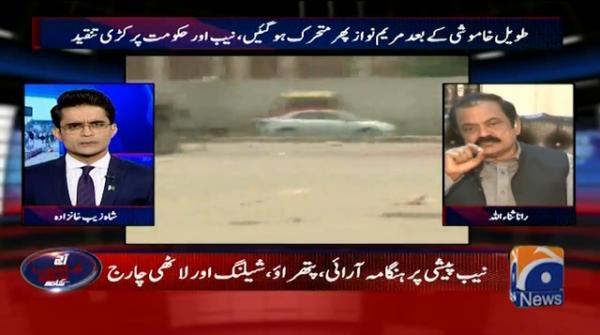 Attempt made on Maryam Nawaz's life via a laser gun: Rana Sanaullah