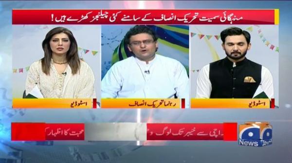 Mehengai Smait Tehreek-e-Insaaf K Samnay Kai Challenges
