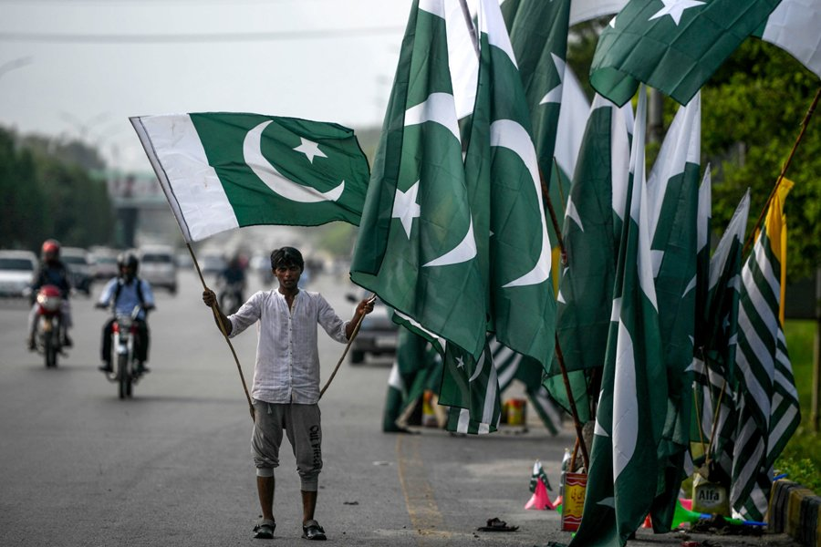 In pictures: Jubilant Pakistanis celebrate 73 years of independence