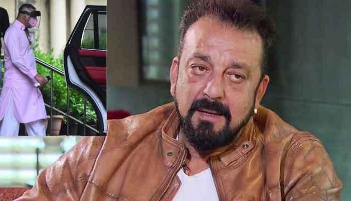 Sanjay Dutt visits Mumbai hospital after cancer diagnosis