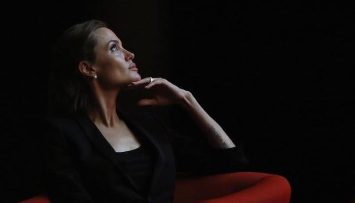 Brad Pitt is mad at Angelina Jolie?