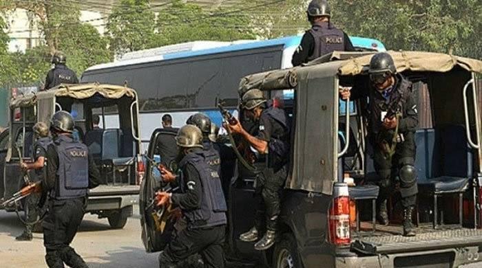 LEAs foil major terrorist bid, kill 2 alleged militants in Karachi