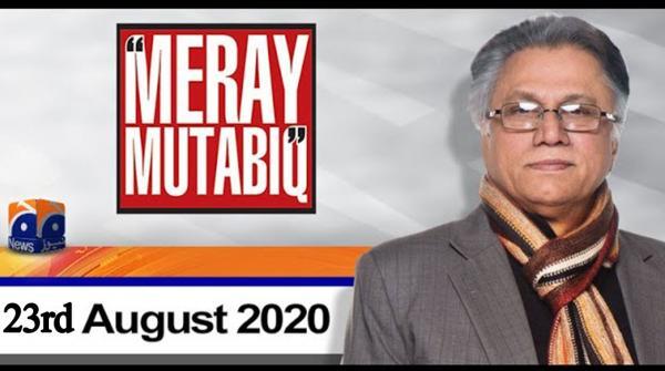 Meray Mutabiq | Hassan Nisar | 23rd August 2020