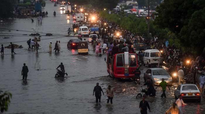 Karachi rain: Businesses grind to a halt amid heavy downpours