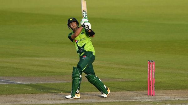 Haider Ali becomes 1st Pakistani to score 50 on T20I debut