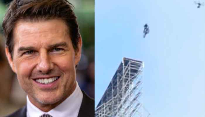 Tom Cruise attempts death-defying motorcycle stunt while shooting Mission: Impossible 7