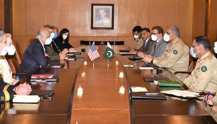 USA special envoy for Afghan talks Zalmay Khalilzad in India today