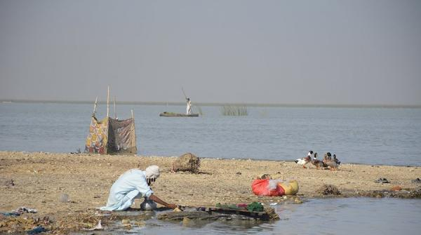 Country's largest freshwater lake, Manchar lake, destroyed due to government's negligence