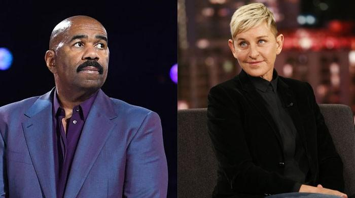 Steve Harvey defends Ellen DeGeneres: She's 'one of the kindest people' in the industry