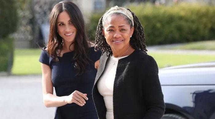 Meghan Markle is all smiles in a throwback pic with Doria Ragland