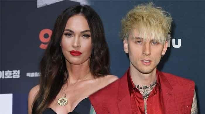 'Tickets To My Downfall': Machine Gun Kelly's album cover features Megan Fox