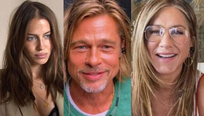 Nicole Poturalski In Trouble After Brad Pitt And Jennifer Aniston S Reunion