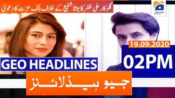 Geo Headlines 02 PM | 19th September 2020