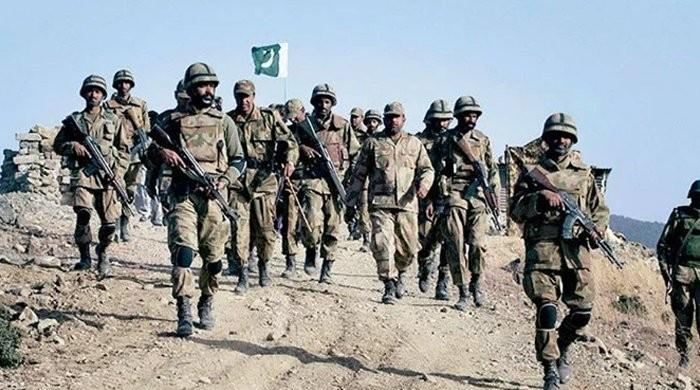 Two security personnel martyred during operation in North Waziristan: ISPR