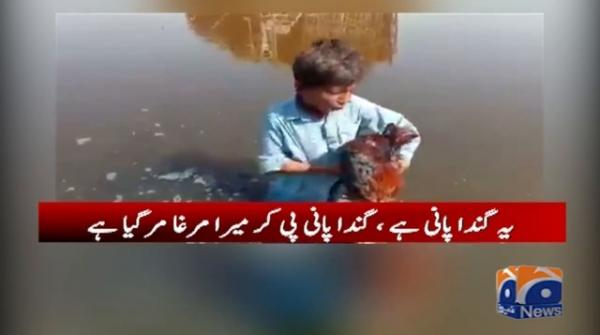 Child of flood-affected family unwell after rooster dies, appeals to Bilawal for help
