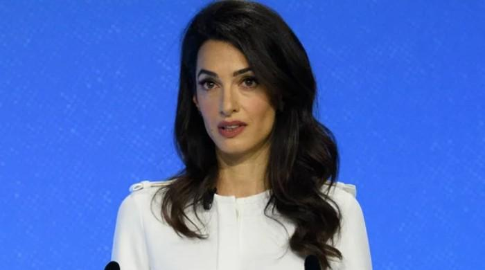 Amal Clooney steps down as British envoy over passage of 'lamentable' Brexit bill