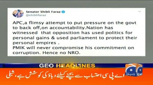Geo Headlines 03 PM | 20th September 2020