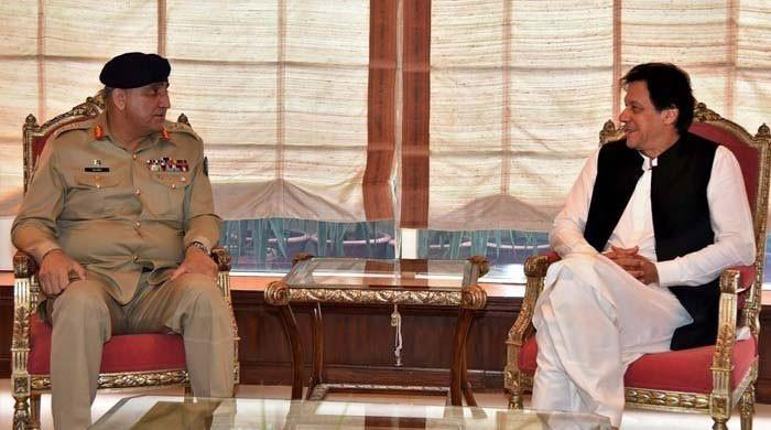 PM Imran meets Gen Bajwa to discuss security situation