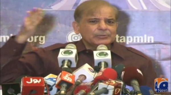 It is PM Imran Khan's desire that I go to jail, says Shehbaz Sharif