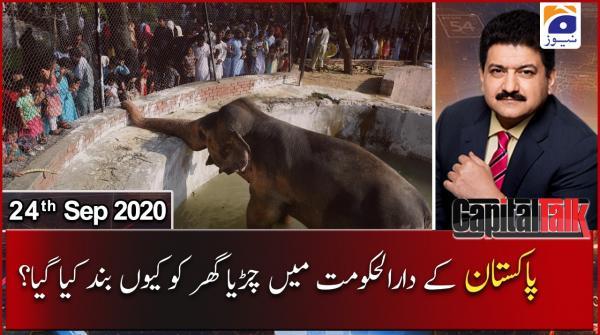 Capital Talk | Hamid Mir | 24th September 2020