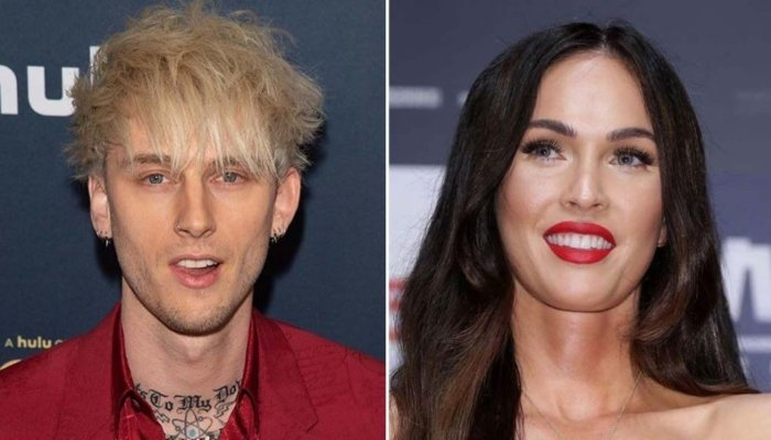 Megan Fox, Machine Gun Kelly Celebrate His Album Release with Night out