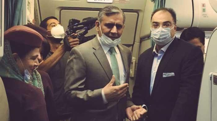 Survivor of Karachi PIA plane crash trusts national carrier with his life again