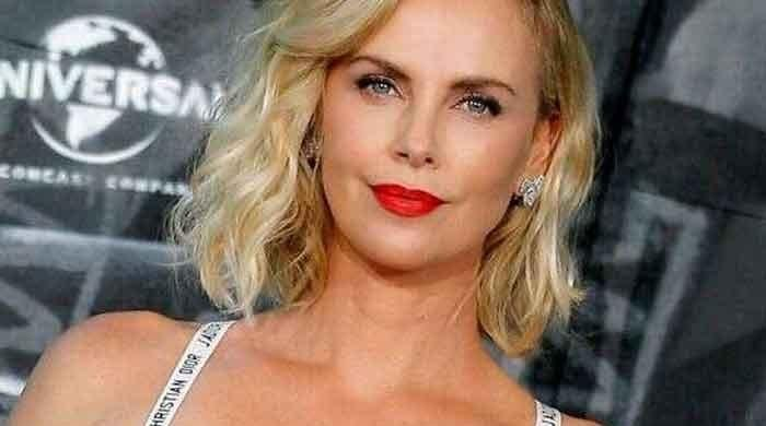 Charlize Theron shares rare pictures with her two children
