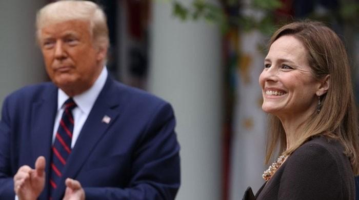 'Brilliant' Amy Coney Barrett nominated as US Supreme Court justice