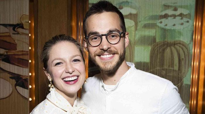 Melissa Benoist and Chris Wood are now parents to a baby boy