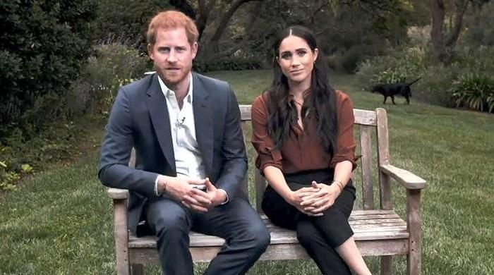 Prince Harry was 'imprisoned' by Meghan Markle during TIME's 100 appearance: expert