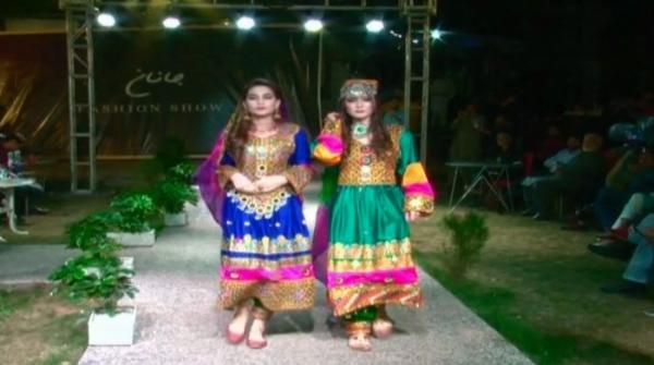 Models show off their culture during fashion show in Islamabad