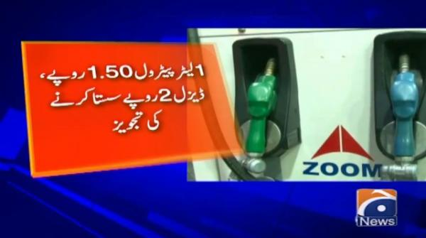 Prices of Petroleum products likely to be reduced from 1st October