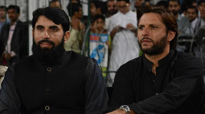 Shahid Afridi says he does not blame Misbah for 2011 World Cup loss against India