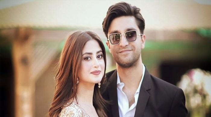 Sajal Ali gushes over Ahad Raza Mir in endearing birthday tribute