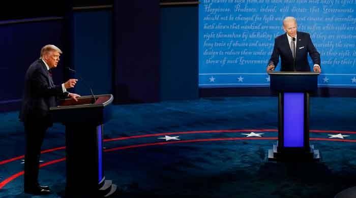 US Election 2020: Biden calls Trump 'a liar' in first presidential debate