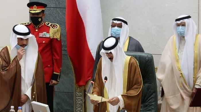 Sheikh Nawaf al-Ahmad Al-Sabah sworn in as Kuwait's new emir
