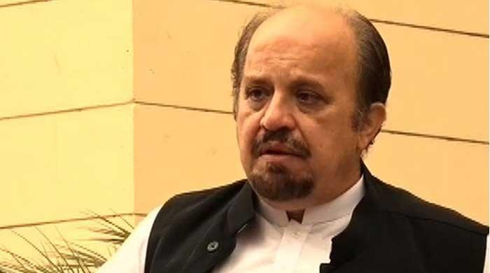 Firdous Shamim Naqvi has resigned as Sindh opposition leader: Governor Ismail