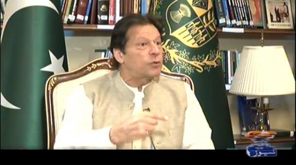 منتخب وزیراعظم ہوں، کس کی جرات مجھ سے استعفا مانگے، عمران خان